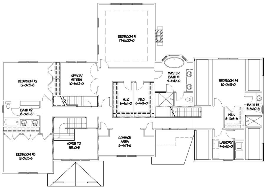 Luxury homes milton for Habitat home designs