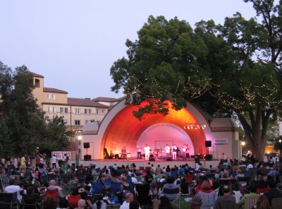 Westport's Levitt Pavilion for the Performing Arts. Photo: Fairfield After Dark