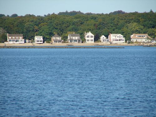 A view from Westport's popular Compo Beach. Photo: Panoramio.com